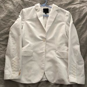 White elegant jacket from The Limited
